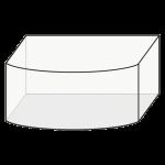 Akvárium Štandard oblúk